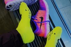 Hardloopschoenen en sokken