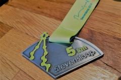 Medaille van de Stevensloop 2018 5 km