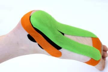 Medical taping onderkant voet